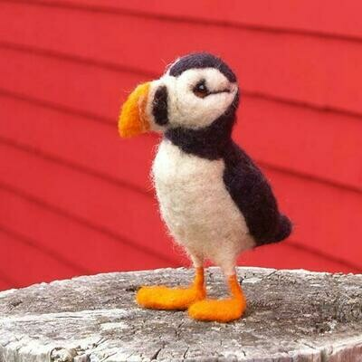 Atlantic Puffin Felting Kit