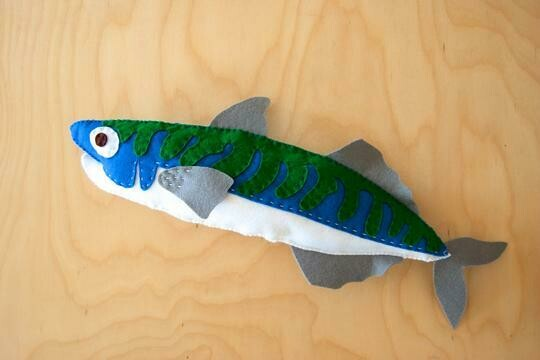 Atlantic Mackerel Sewing Kit