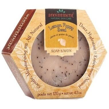 Lemon Poppyseed Soap - Anointment