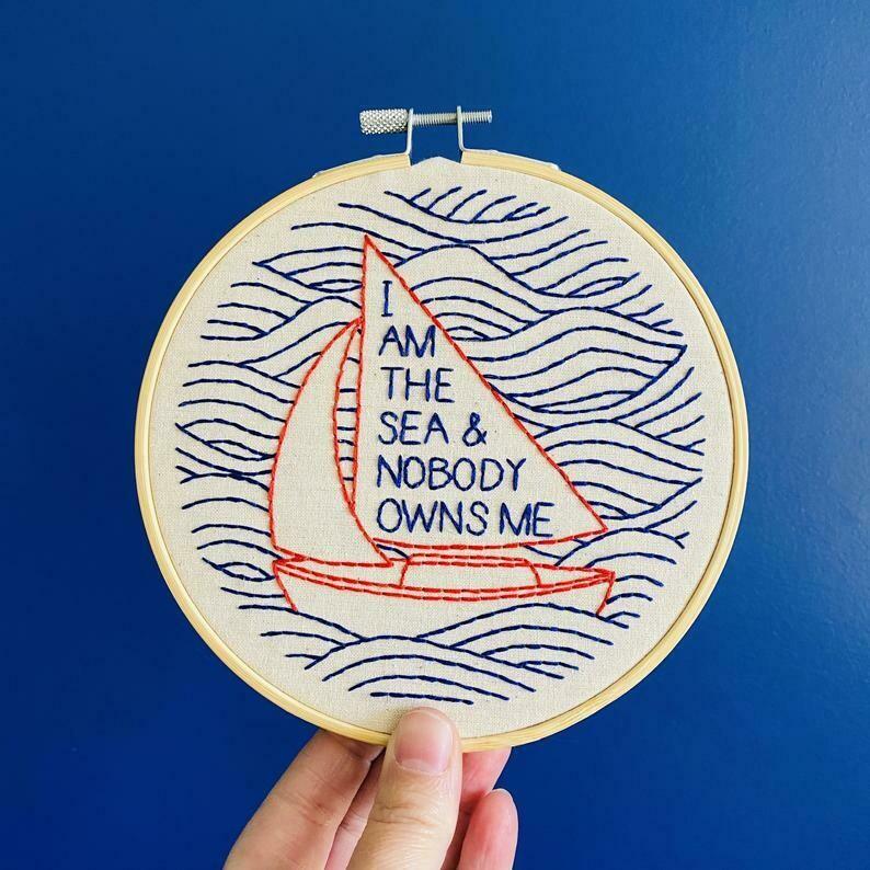 Hook Line & Tinker I am the Sea