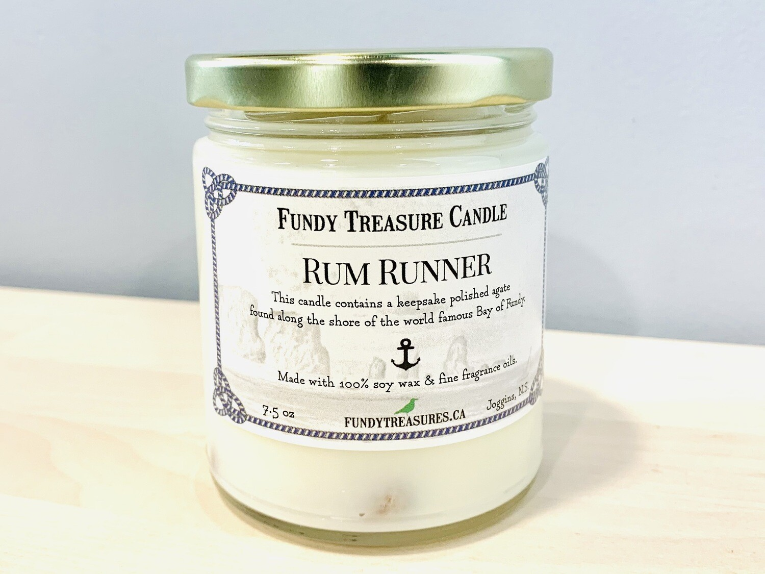 Rum Rummer Candle