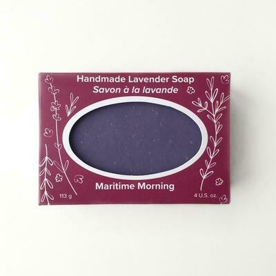 Maritime Morning Lavender Soap
