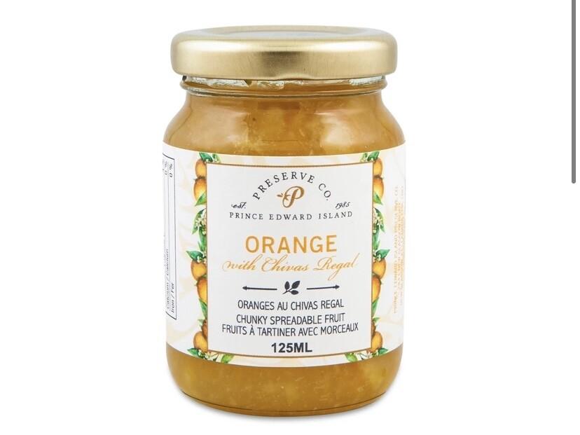 Orange with Chivas Regal Marmalade 125ml, PEI
