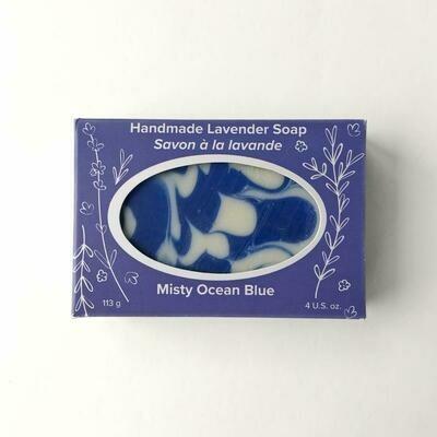 Misty Ocean Blue Lavender Soap