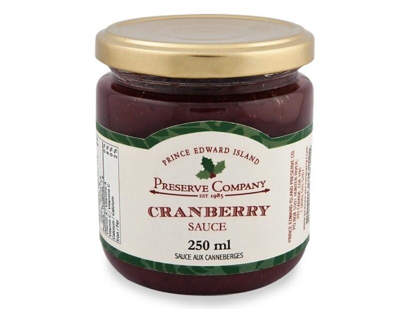 Cranberry Sauce 250ml, PEI