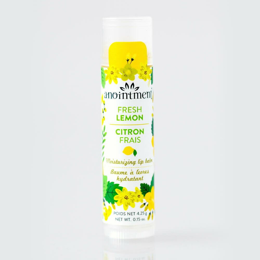 Lemon Lip Balm - Anointment