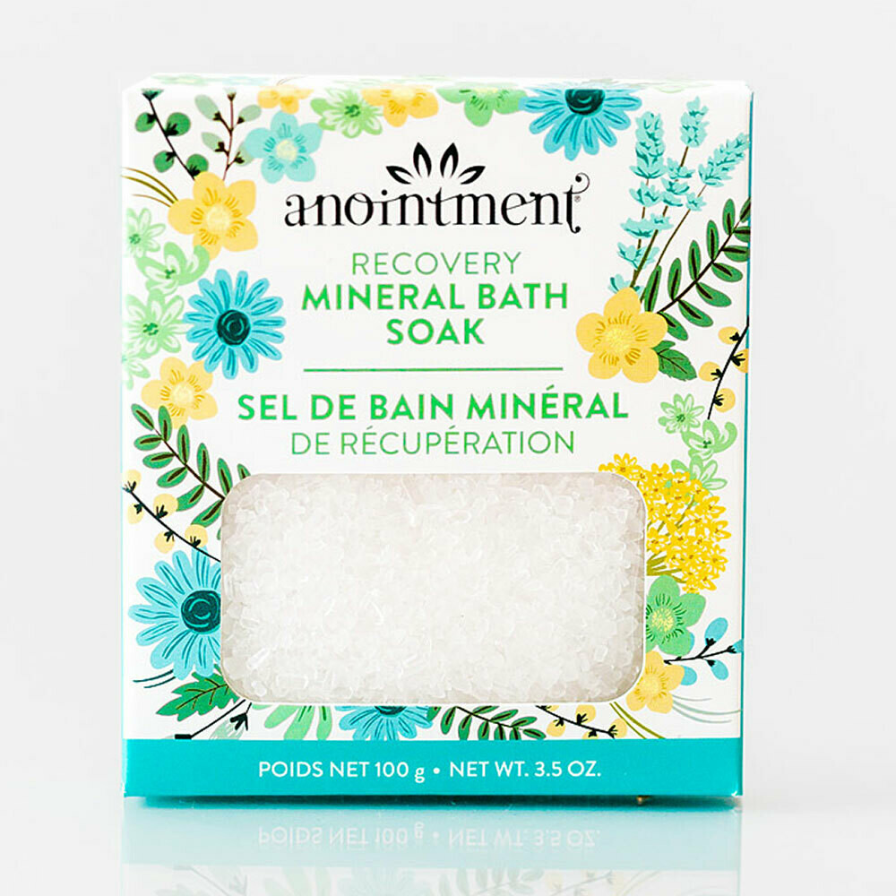 Recovery Mineral Bath Soak - Anointment