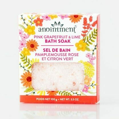 Pink Grapefruit & Lime Bath Soak - Anointment