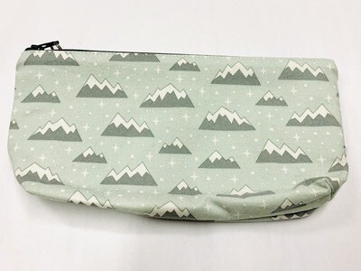 Mint Mountains Zippered Pouch - Ella's Cottage