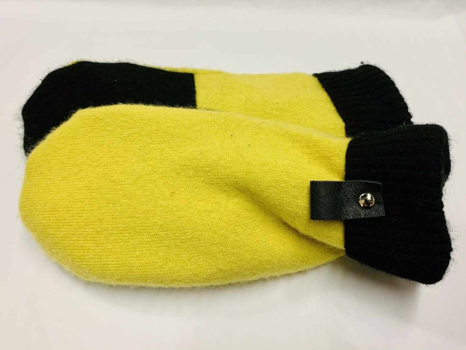 Yellow & Black, Medium - Mary's Mittens