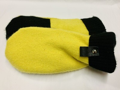 Yellow & Black, Medium - Mary's Mittens