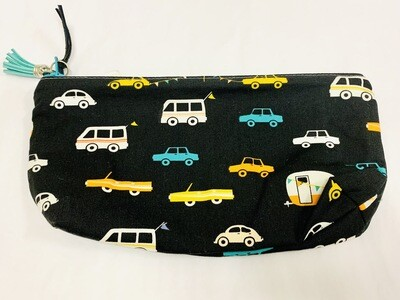 Vehicles Zippered Pouch - Ella's Cottage