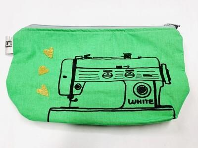 Green Sewing Machine Pouch - Leigh-Anne Dean