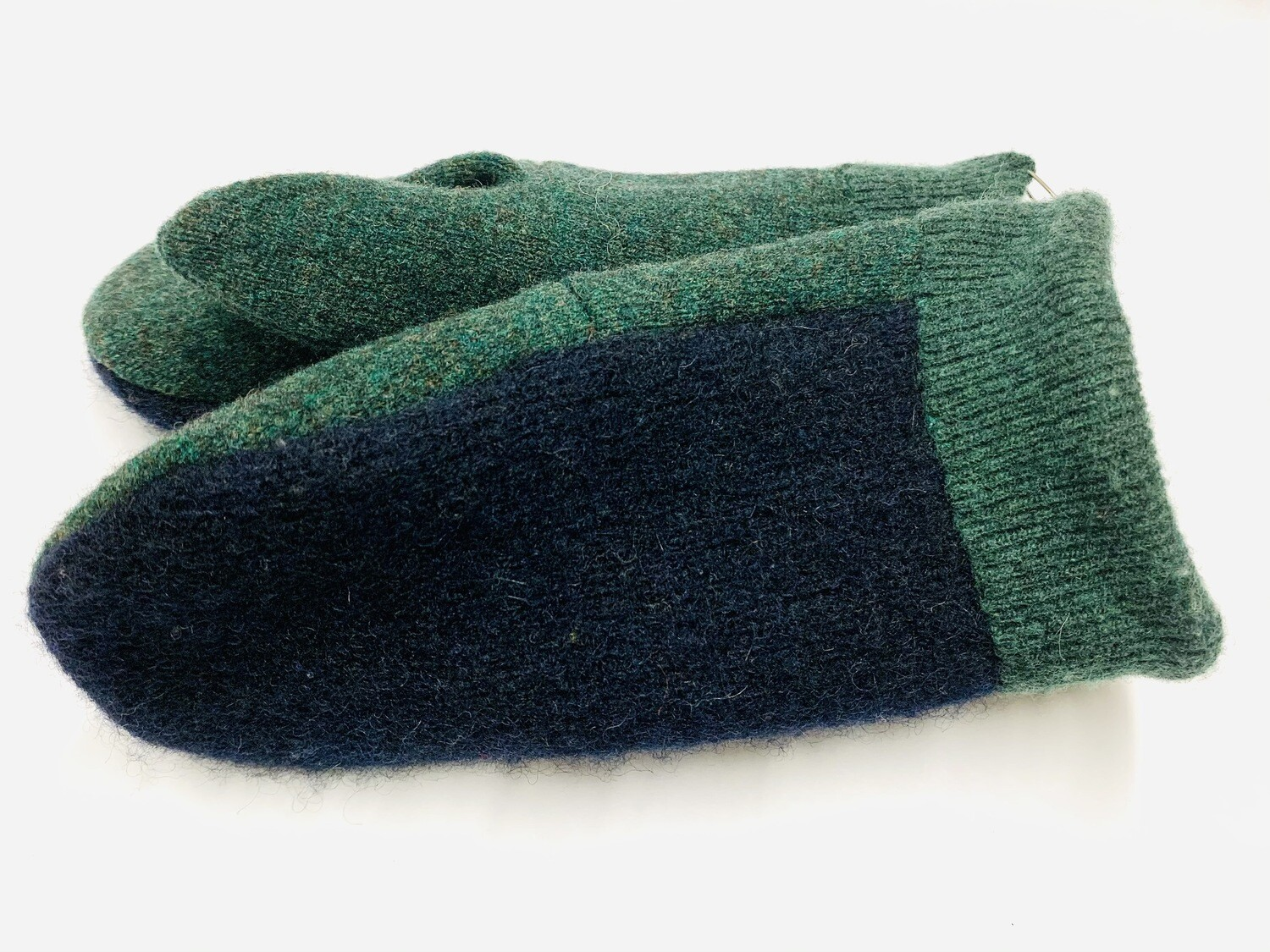 Blue & Green, Youth - Mary's Mittens
