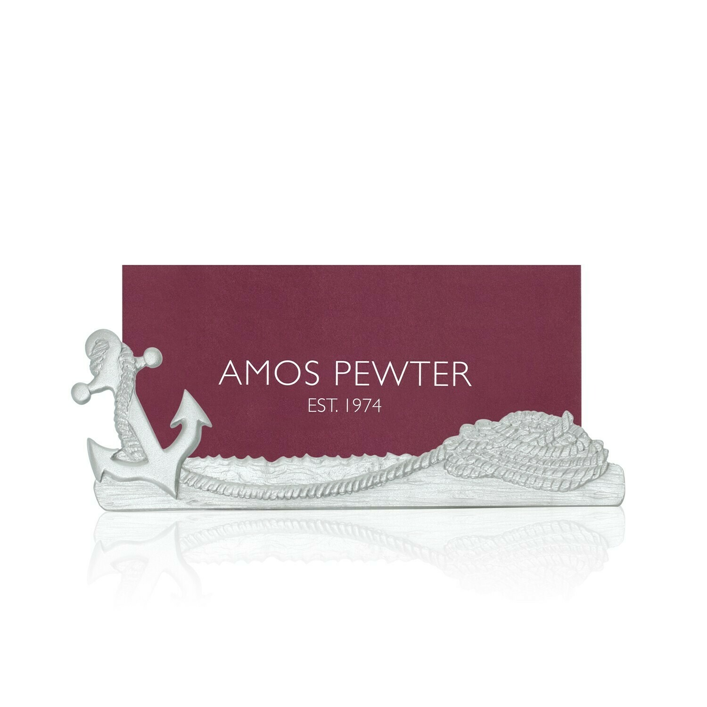 Anchor Business Card Holder - Amos