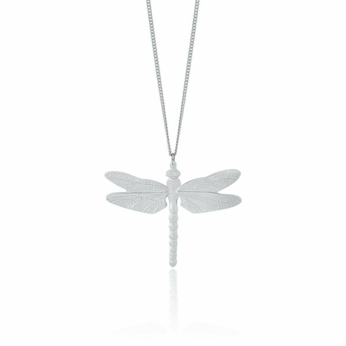 "Dragonfly Necklace 24"" - Amos"