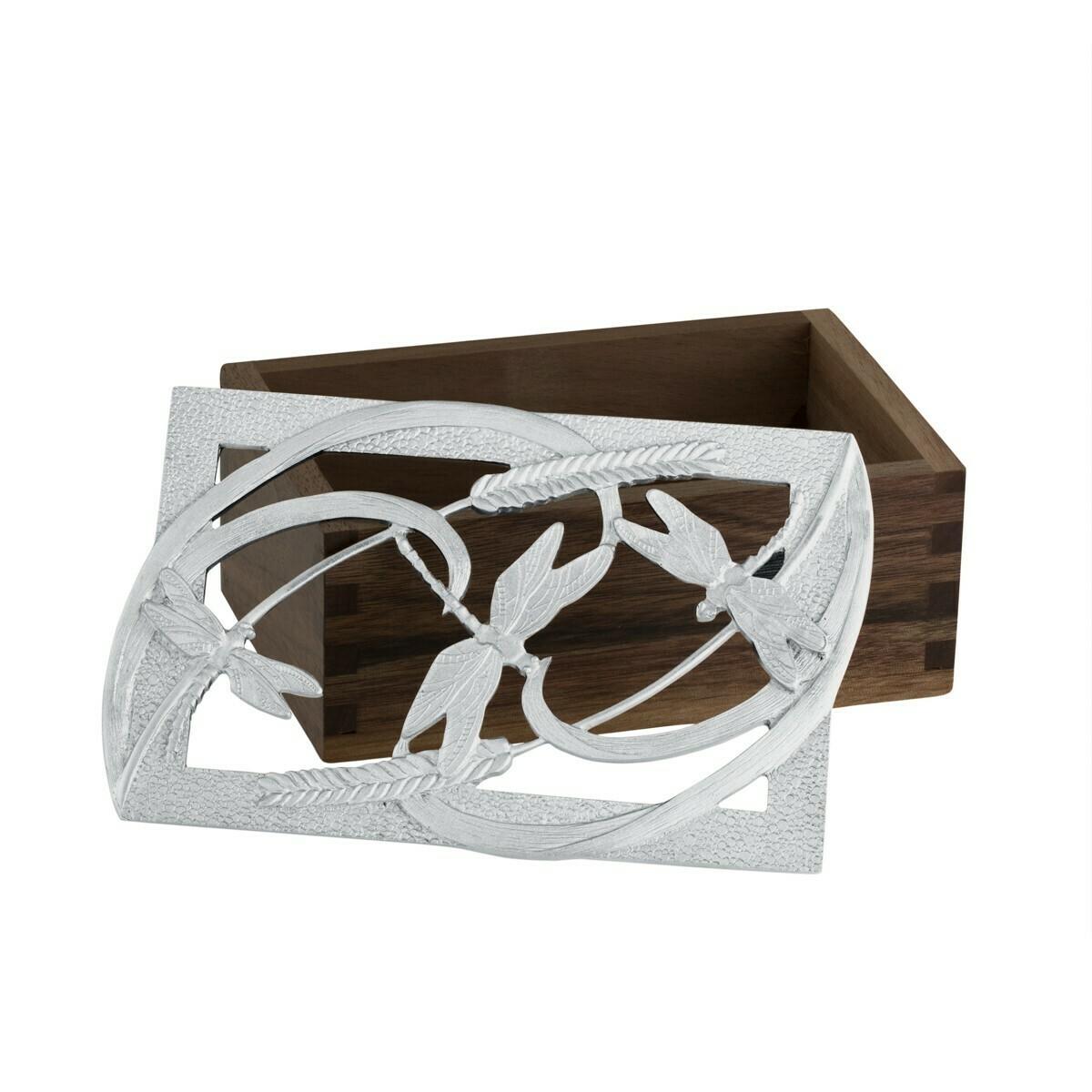 Dragonfly Wood Box - Amos