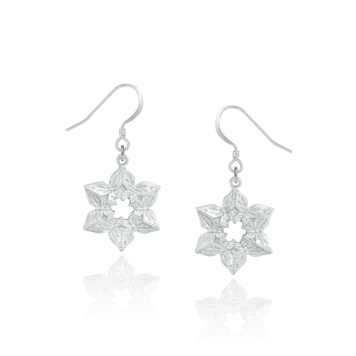 Winter Blossom Earrings - Amos