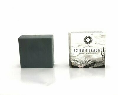 Activated Charcoal Soap - SeaLuxe