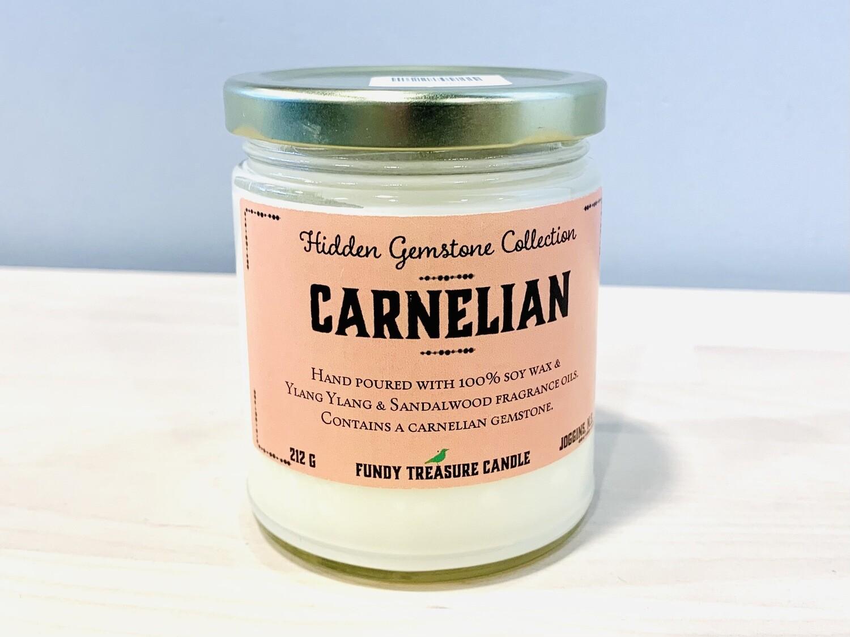 Carnelian - Fundy Treasures Candle