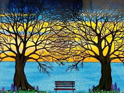 Between the Trees - Shelagh Duffett