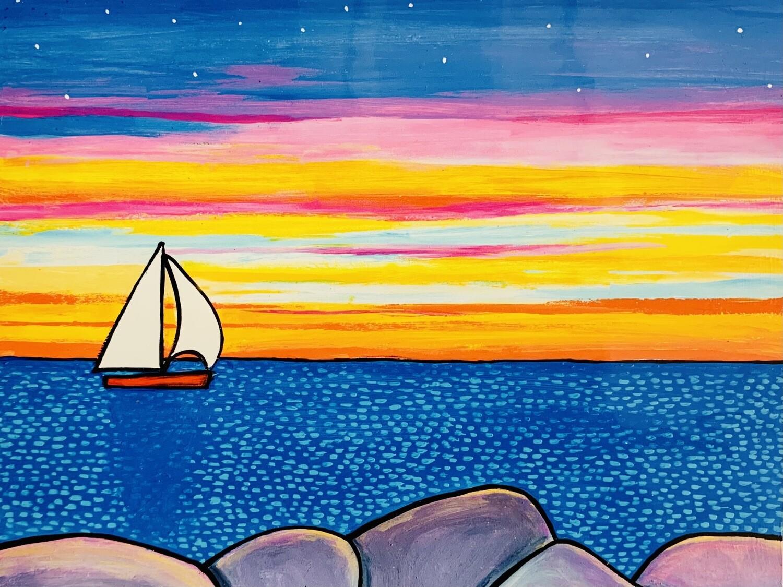 Sunset Sail - Shelagh Duffett