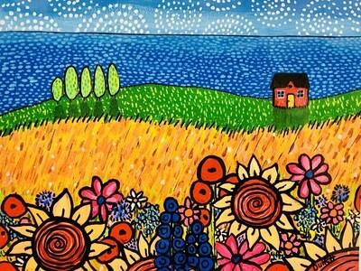 Fanciful Flowers by the Sea - Shelagh Duffett