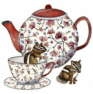 Chipmunks and Tea - Sarah Duggan