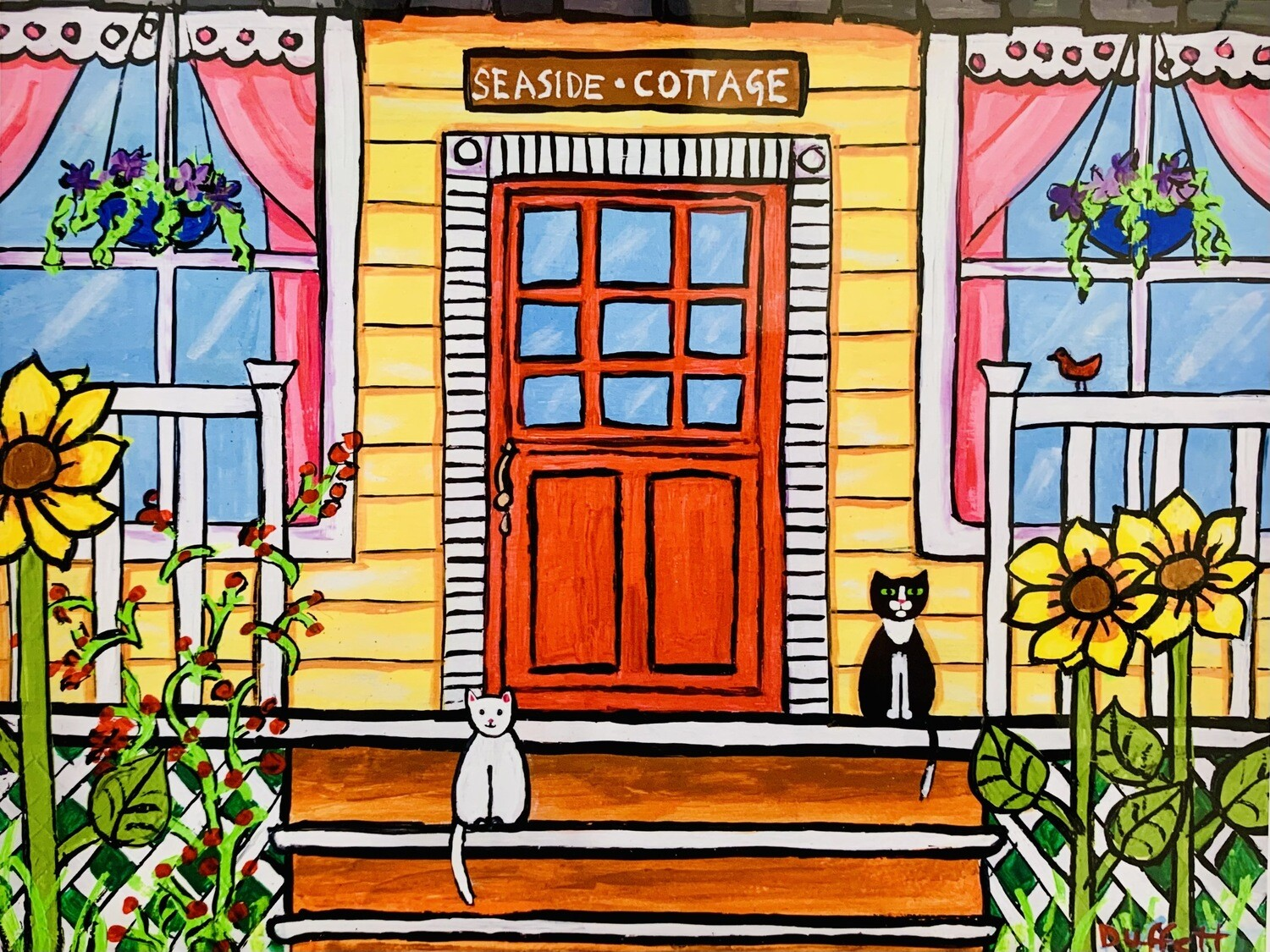 Red Door Cottage - Shelagh Duffett