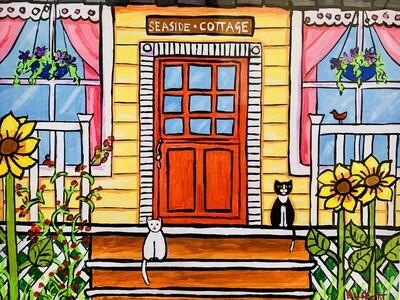Red Door Cottage - Shelagh Duffett
