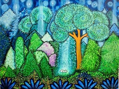 Forest Feline - Shelagh Duffett