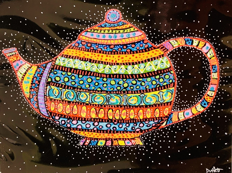 Whimsical Tea Pot - Shelagh Duffett