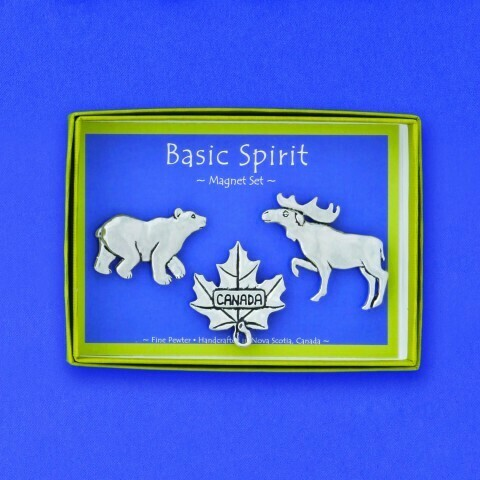 'Canadiana' Magnet Set - Basic Spirit