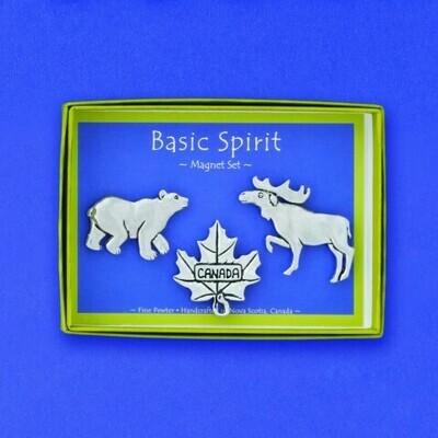 'Canadiana' Magnet Set - Basic Spirit