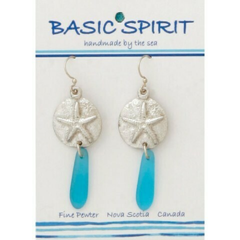 Sandy Starfish Drop Earring - Basic Spirit