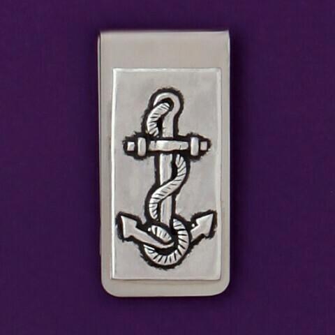 Anchor Money Clip - Basic Spirit