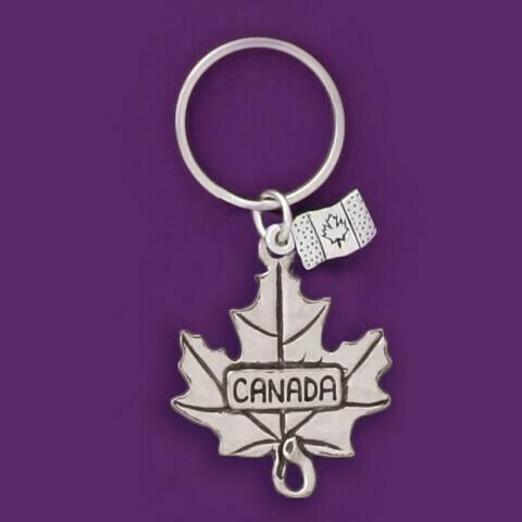 Maple Leaf Keychain - Basic Spirit