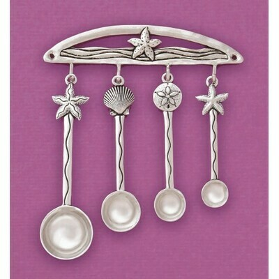 Seashells Measuring Spoons with Rack - Basic Spirit