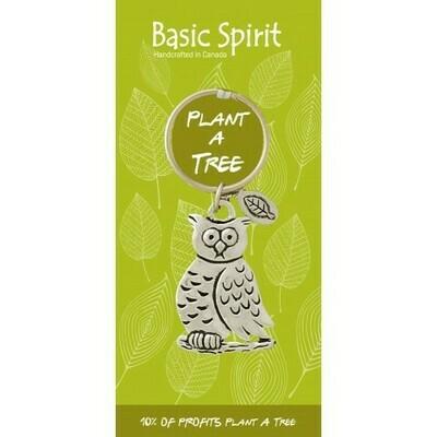 Owl Keychain - Basic Spirit