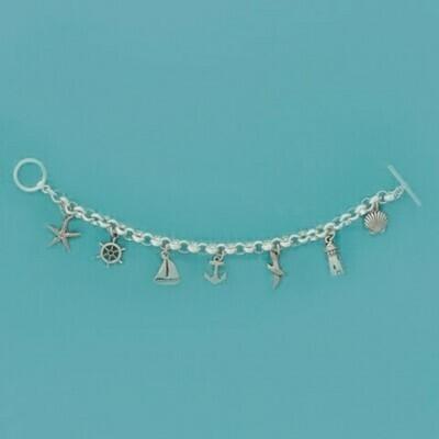 Seaside Multi-Charm Bracelet - Basic Spirit