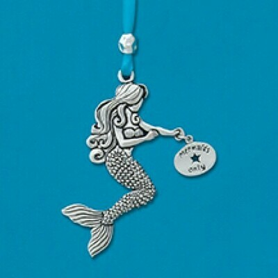 Mermaid with tag Ornament - Basic Spirit