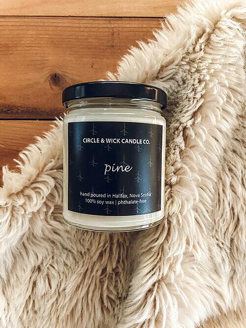 Circle & Wick Pine Candle
