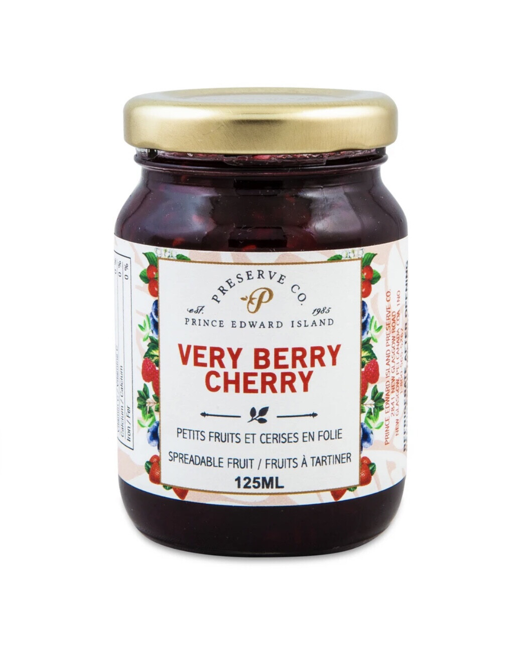 Very Berry Cherry, 125ml, PEI