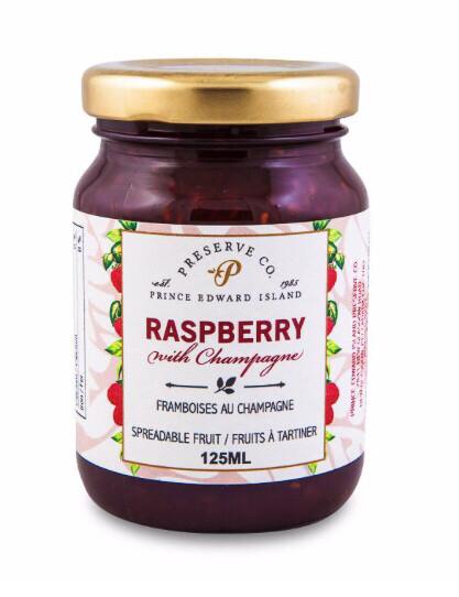 Raspberry with Champagne 125ml, PEI