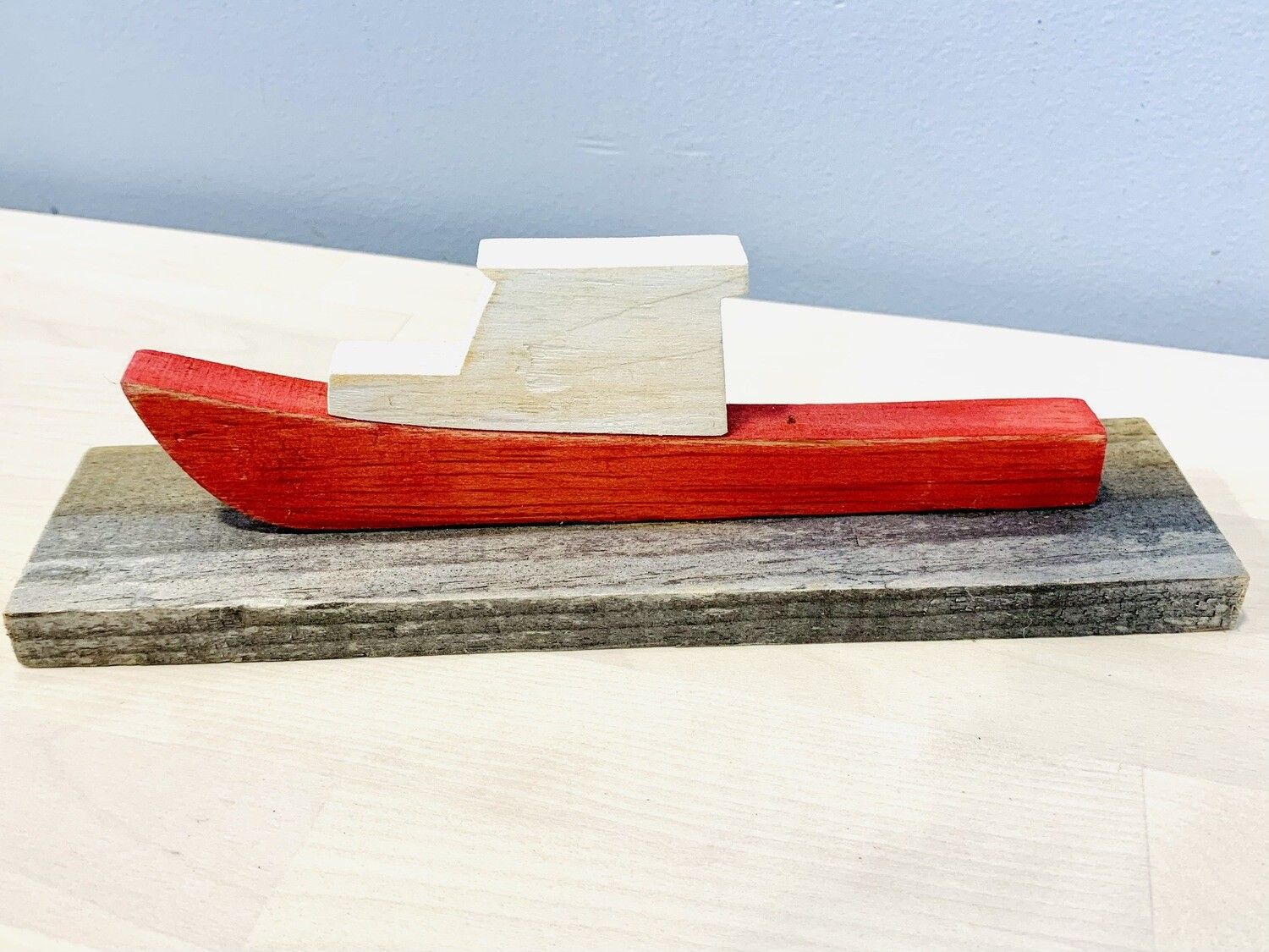 Red Fishing Boat - Jerry Walsh