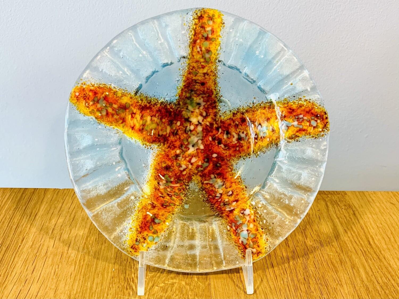 Starfish Bowl, 6x6 - Kiln Art