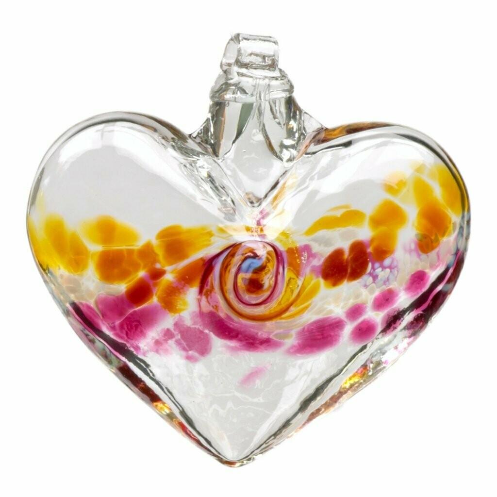 """Van Glow Heart Gold/Pink 3"""""""
