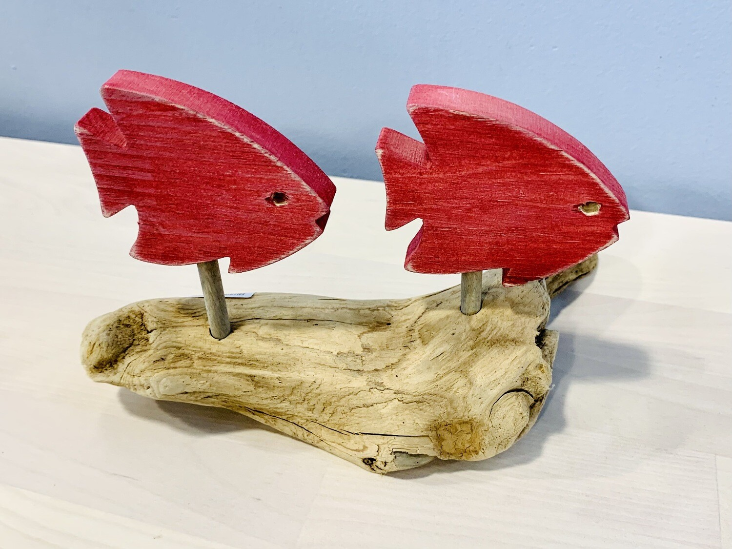 Red Angelfish Duo - Jerry Walsh