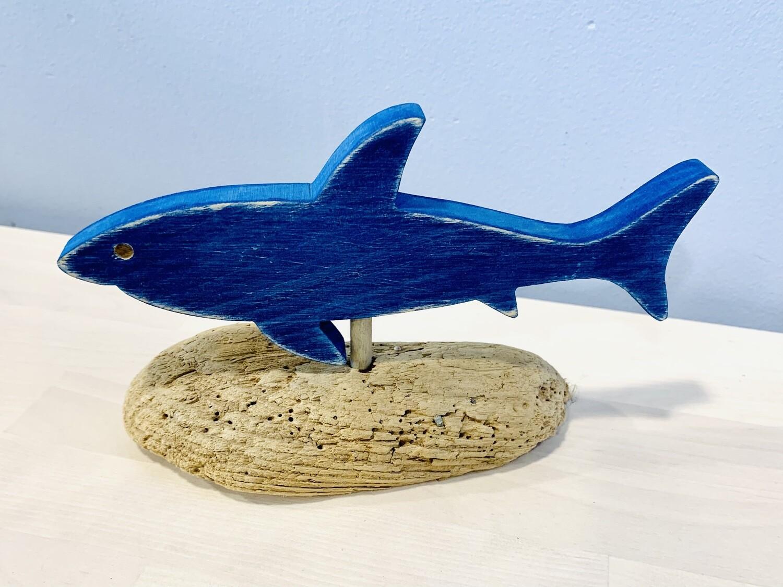 Dark Blue Shark - Jerry Walsh