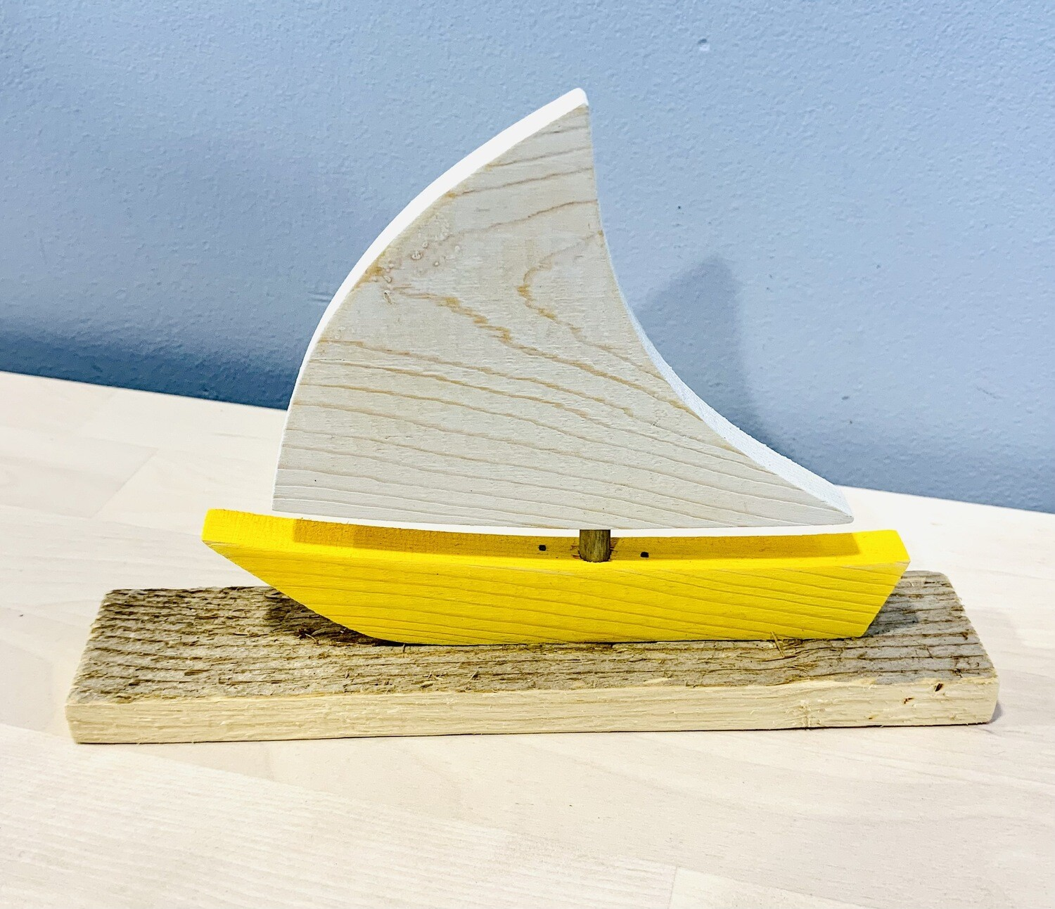 Yellow Large Sailboat - Jerry Walsh